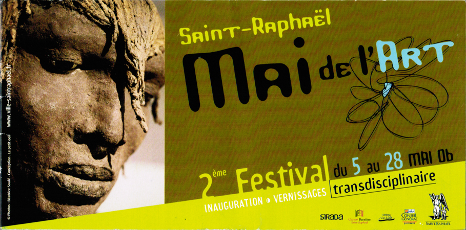 Exposition Mai de l'art Saint-Raphaël (83) du 24 et 25 juillet 2004